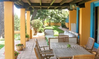Rustic styled villa with paddock and stables for sale in Marbella at the Costa del Sol 14