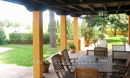 Rustic styled villa with paddock and stables for sale in Marbella at the Costa del Sol 16