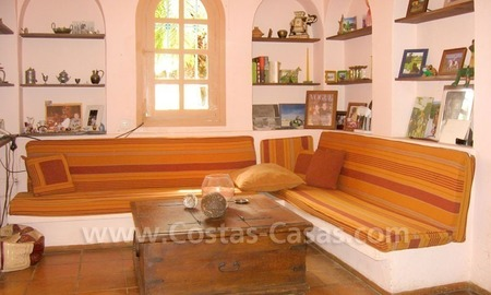Rustic styled villa with paddock and stables for sale in Marbella at the Costa del Sol 20