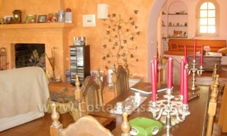 Rustic styled villa with paddock and stables for sale in Marbella at the Costa del Sol 21