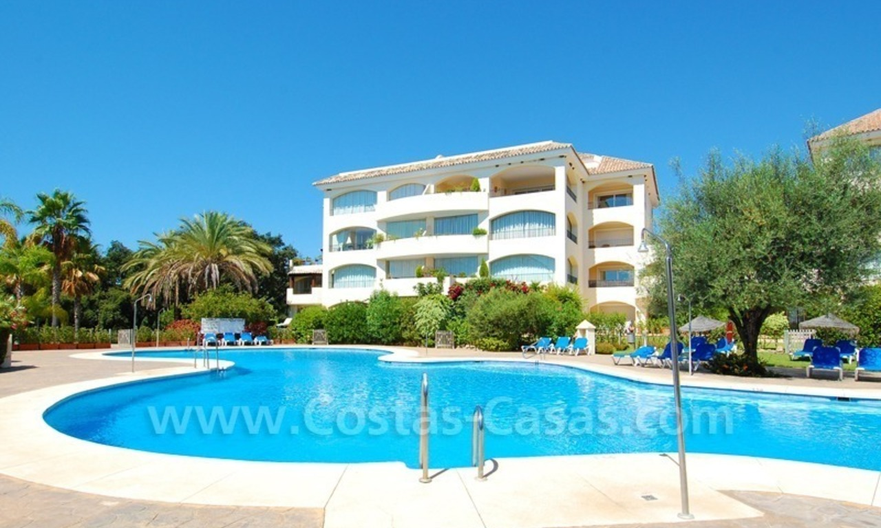 Beachside apartment to buy in Marbella 1