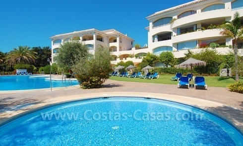 Beachside apartment to buy in Marbella