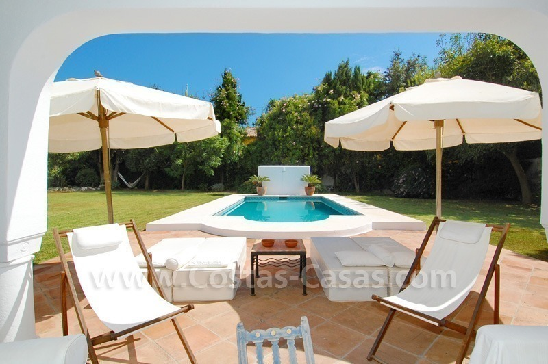 Totally renovated detached villa nearby the beach for sale in Marbella