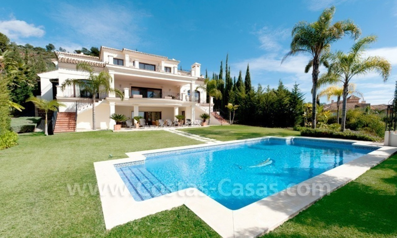 Luxury villa for sale – Golden Mile - Marbella 1