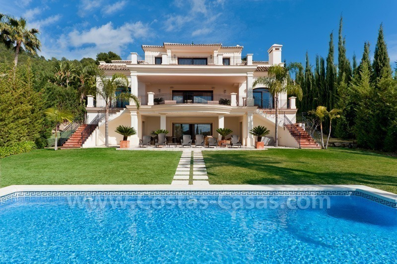 Luxury villa for sale – Golden Mile - Marbella