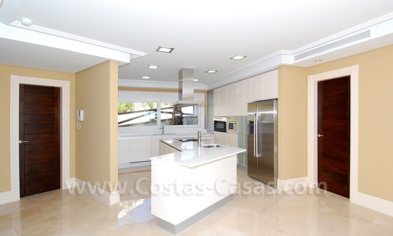 Modern Andalusian style newly built villa to buy in Marbella 12