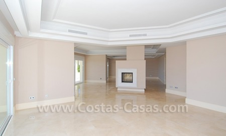 Modern Andalusian style newly built villa to buy in Marbella 9
