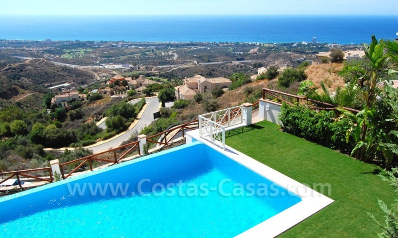 Modern Andalusian style newly built villa to buy in Marbella 3