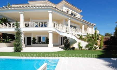 Modern Andalusian style newly built villa to buy in Marbella 4