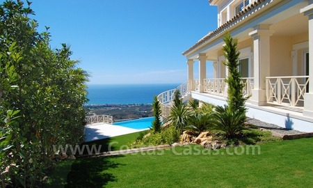Modern Andalusian style newly built villa to buy in Marbella 6