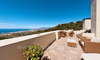 Luxury modern style penthouse apartment for sale in Marbella 1