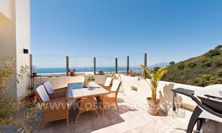 Luxury modern style penthouse apartment for sale in Marbella 5