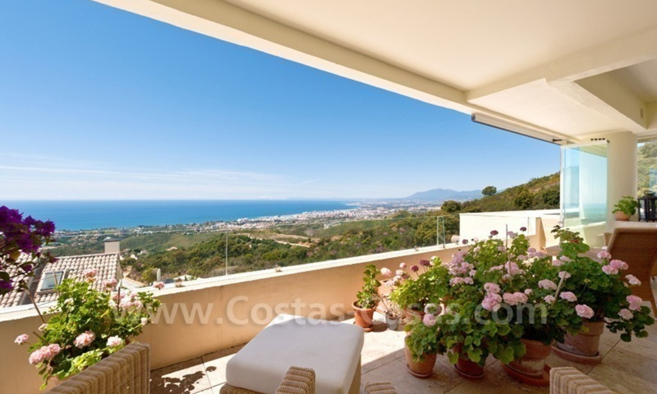 Luxury modern style penthouse apartment for sale in Marbella 3