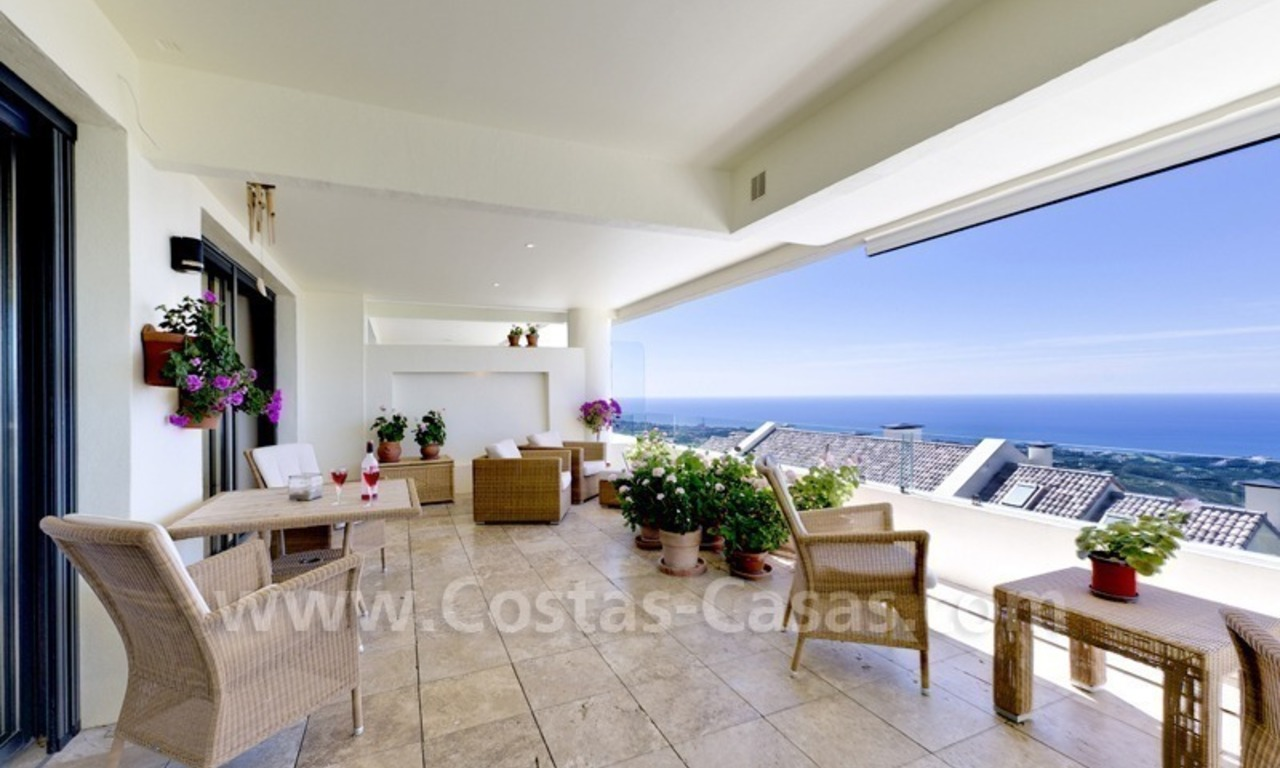 Luxury modern style penthouse apartment for sale in Marbella 4