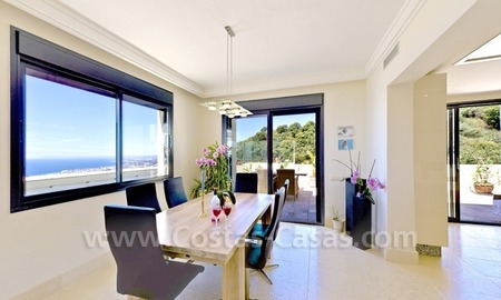 Luxury modern style penthouse apartment for sale in Marbella 14