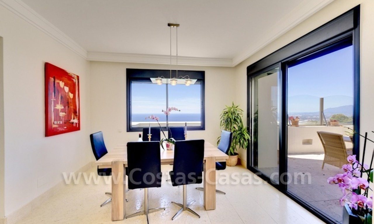 Luxury modern style penthouse apartment for sale in Marbella 15