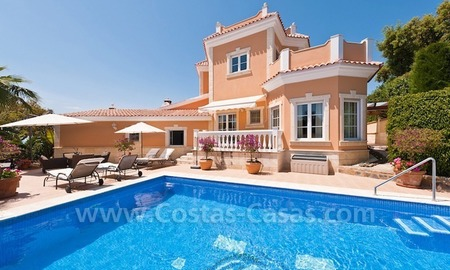 Luxury villa for sale in Marbella east 2