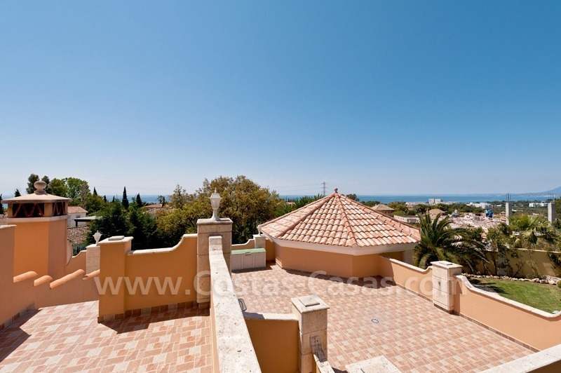 Luxury villa for sale in Marbella east 6