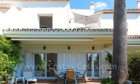 Seafront townhouse for sale in Marbella 5