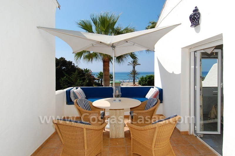 Seafront townhouse for sale in Marbella