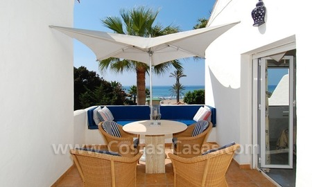 Seafront townhouse for sale in Marbella 0