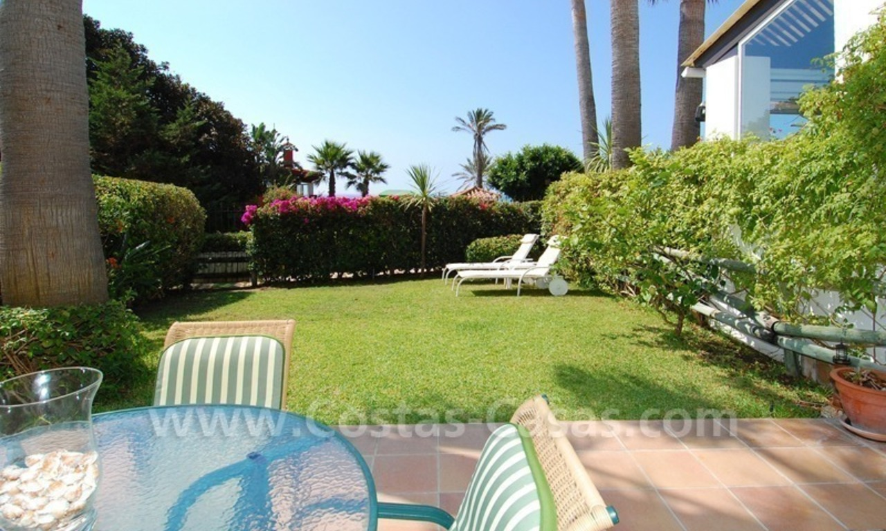 Seafront townhouse for sale in Marbella 4