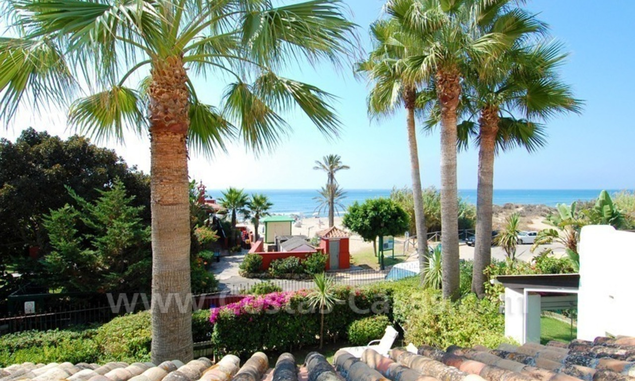 Seafront townhouse for sale in Marbella 1