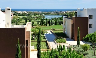 Contemporary frontline golf apartments for sale - Marbella - Benahavis 0