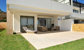 Contemporary frontline golf apartments for sale - Marbella - Benahavis 5