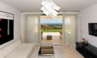 Contemporary frontline golf apartments for sale - Marbella - Benahavis 8