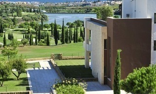 Contemporary frontline golf apartments for sale - Marbella - Benahavis 15