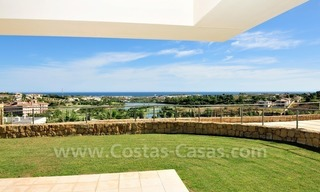 Contemporary frontline golf apartment for sale - Marbella - Benahavis 0