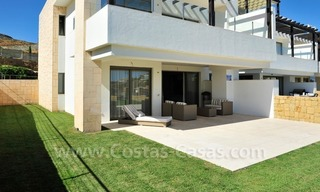 Contemporary frontline golf apartment for sale - Marbella - Benahavis 2
