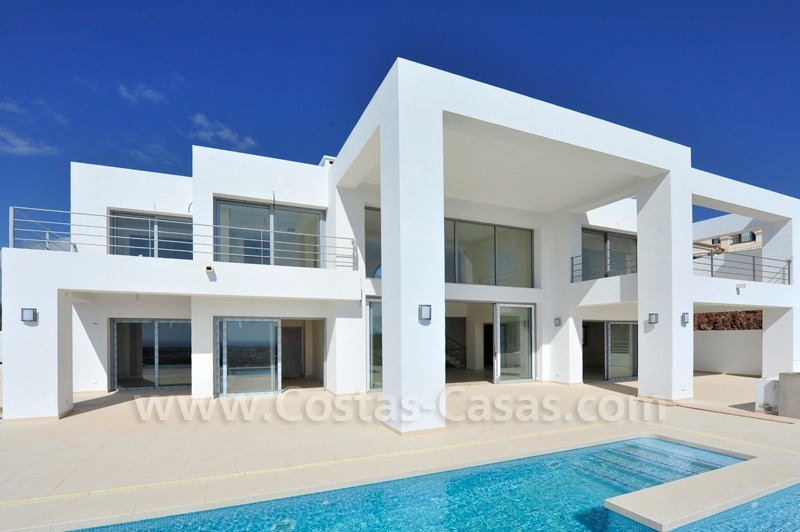 Exclusive contemporary villa for sale in the area of Marbella - Benahavis 1
