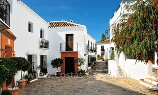 Exclusive apartment for sale in a Andalusian Village in the heart of the Golden Mile, between Marbella and Puerto Banus 1