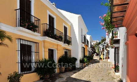 Exclusive apartment for sale in a Andalusian Village in the heart of the Golden Mile, between Marbella and Puerto Banus 2
