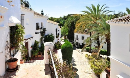 Exclusive apartment for sale in a Andalusian Village in the heart of the Golden Mile, between Marbella and Puerto Banus 3