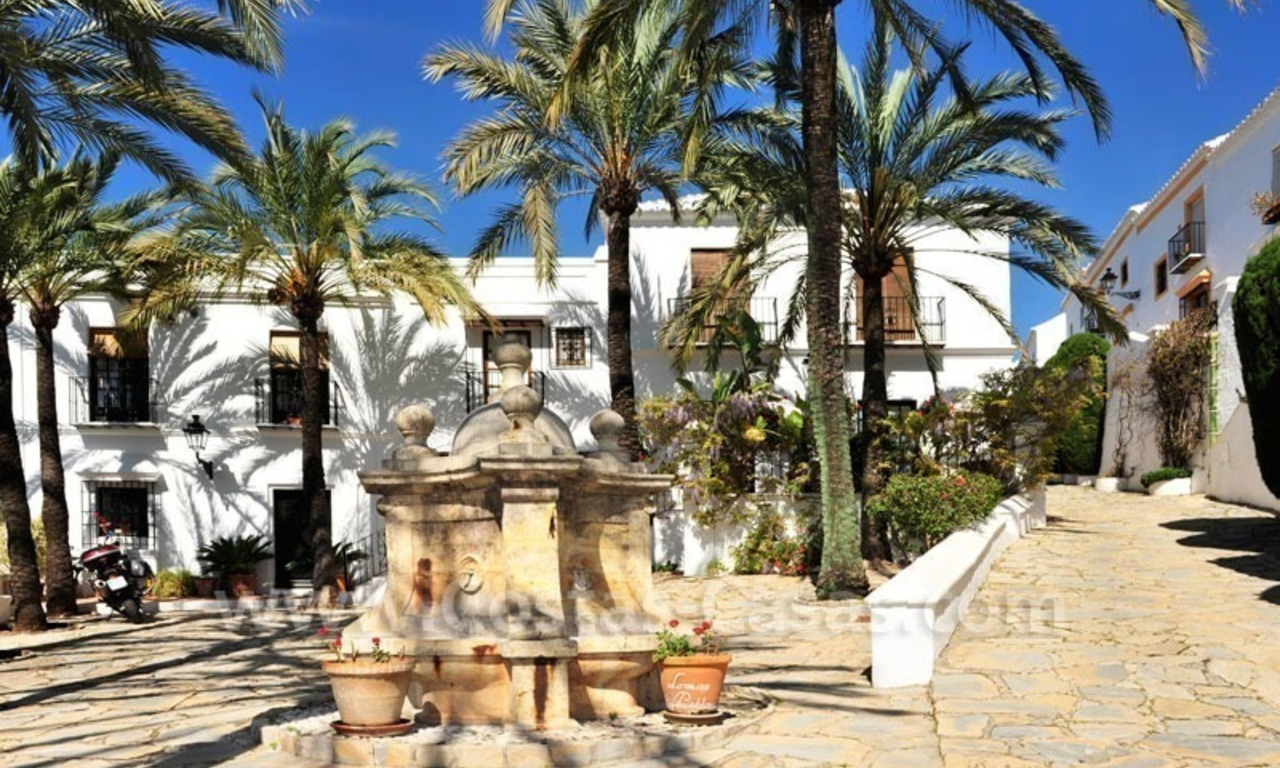 Exclusive apartment for sale in a Andalusian Village in the heart of the Golden Mile, between Marbella and Puerto Banus 4