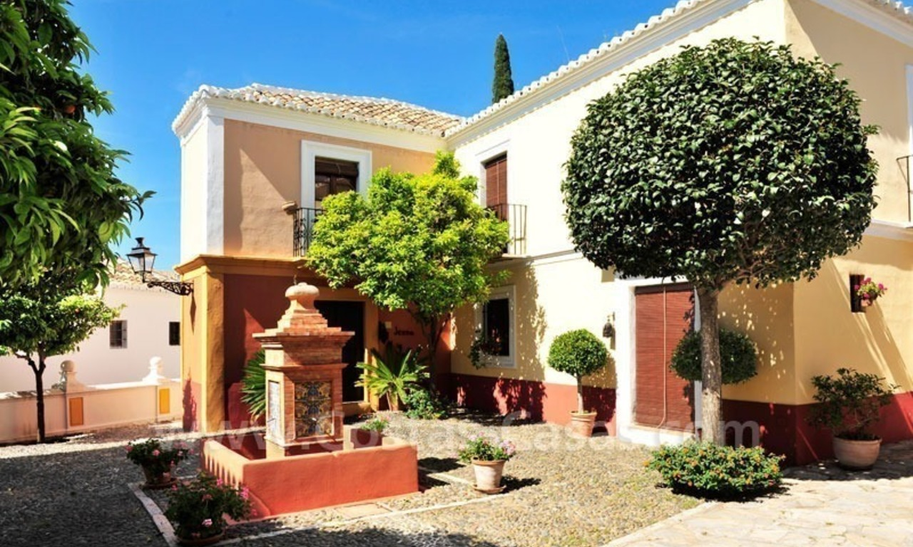 Exclusive apartment for sale in a Andalusian Village in the heart of the Golden Mile, between Marbella and Puerto Banus 8
