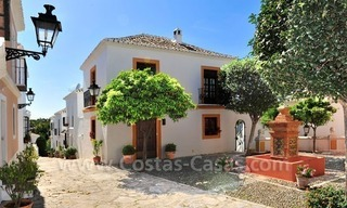 Exclusive apartment for sale in a Andalusian Village in the heart of the Golden Mile, between Marbella and Puerto Banus 6