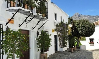 Exclusive apartment for sale in a Andalusian Village in the heart of the Golden Mile, between Marbella and Puerto Banus 13