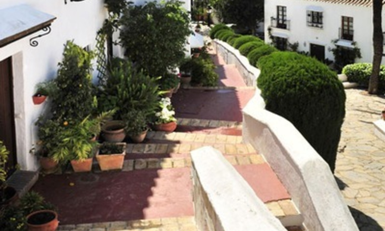 Exclusive apartment for sale in a Andalusian Village in the heart of the Golden Mile, between Marbella and Puerto Banus 14