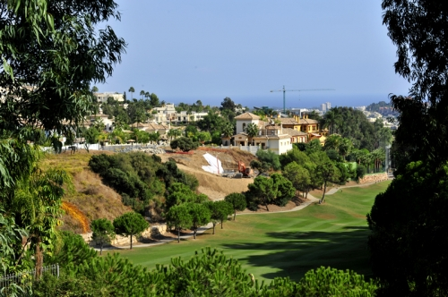 Frontline golf plot for sale in La Quinta Golf Resort at Marbella - Benahavis