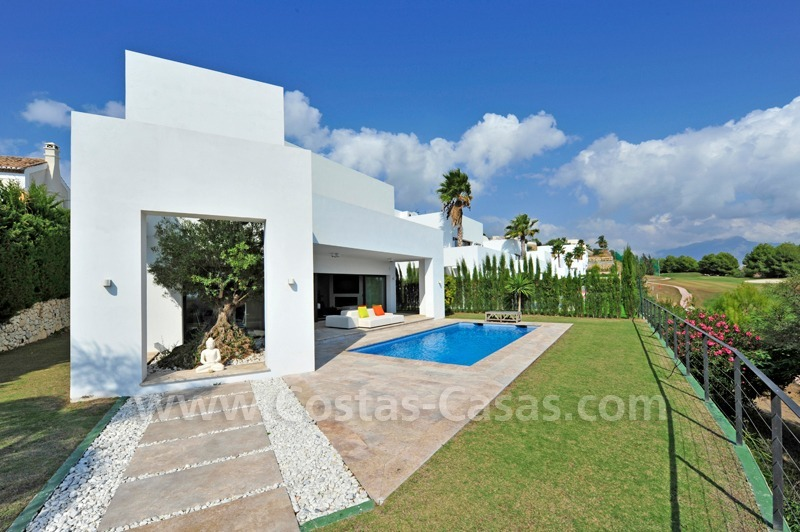 Exclusive modern villa for sale in the area of Marbella – Benahavis