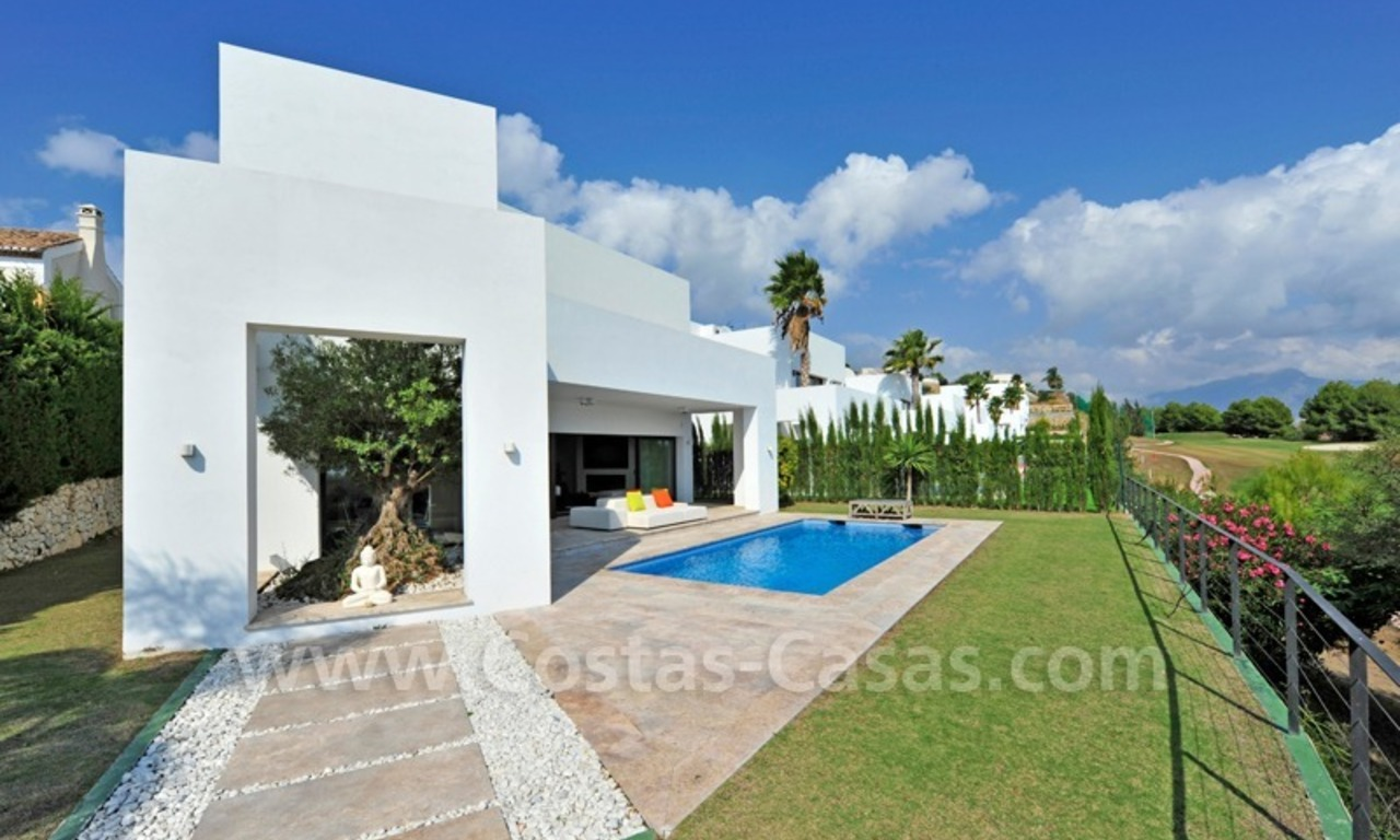 Exclusive modern villa for sale in the area of Marbella – Benahavis 0