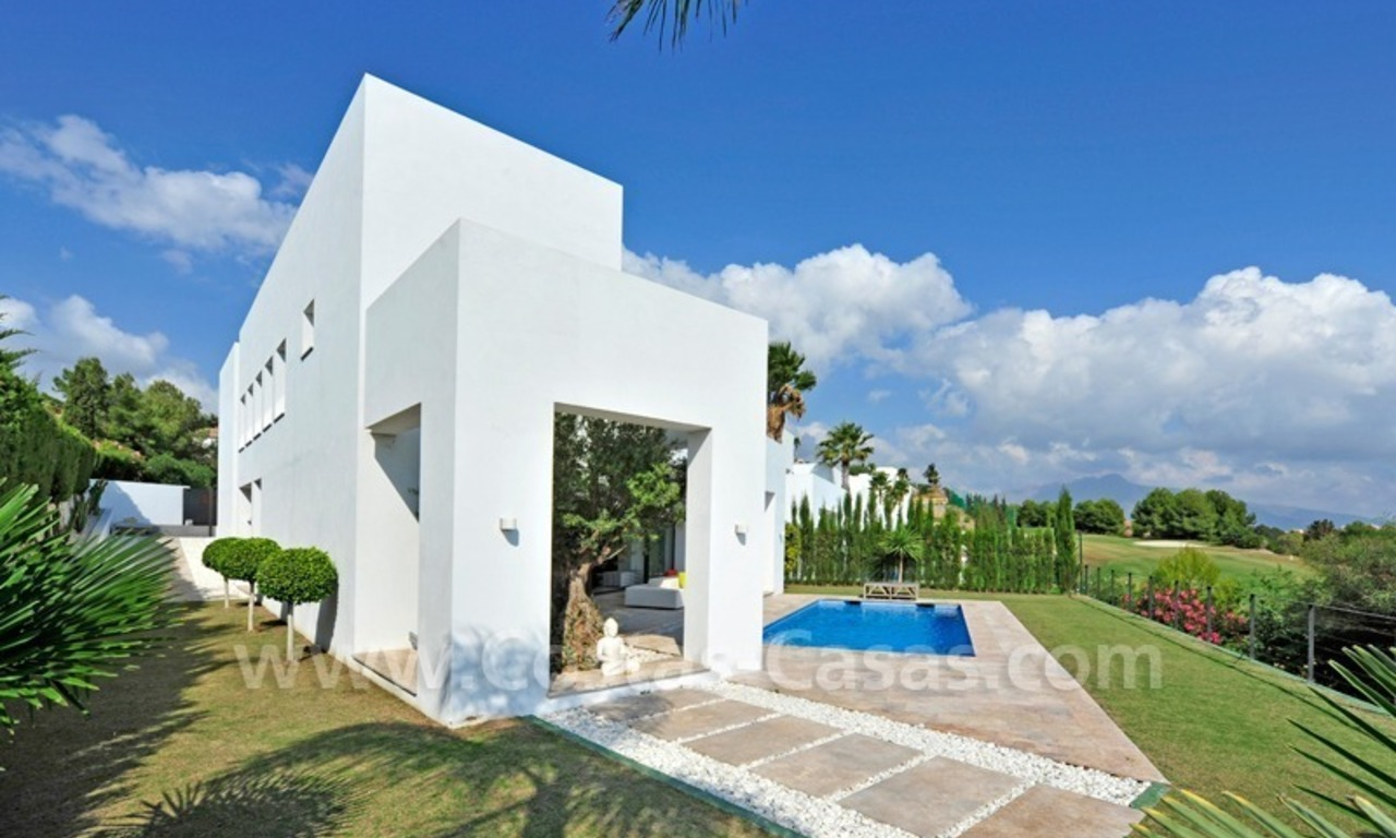 Exclusive modern villa for sale in the area of Marbella – Benahavis 1
