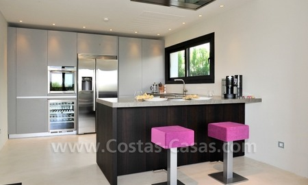 Exclusive modern villa for sale in the area of Marbella – Benahavis 10