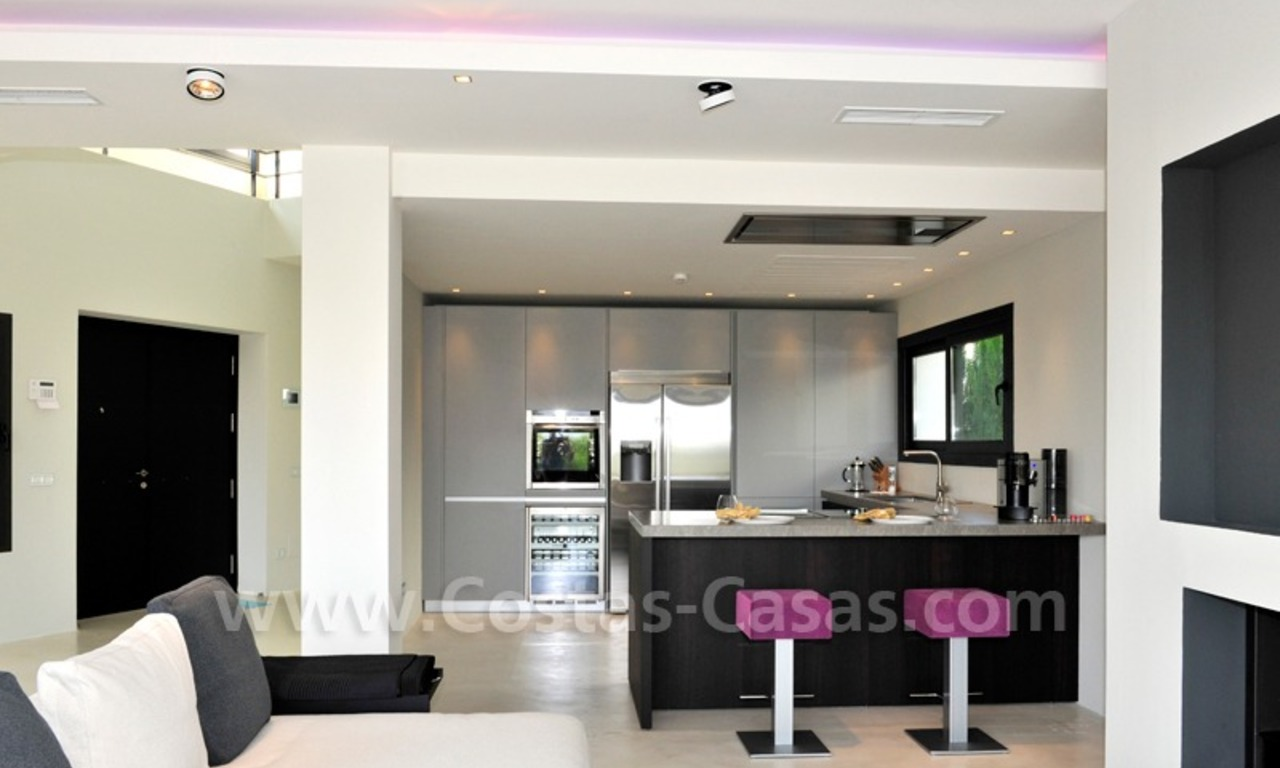Exclusive modern villa for sale in the area of Marbella – Benahavis 9