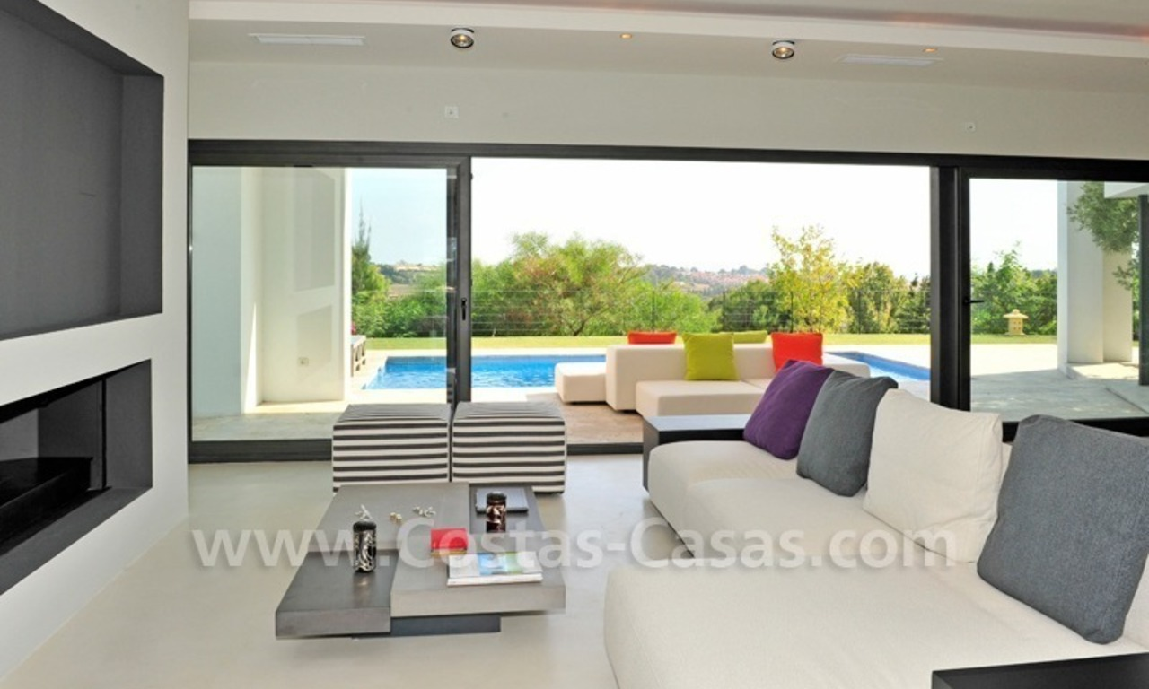 Exclusive modern villa for sale in the area of Marbella – Benahavis 12