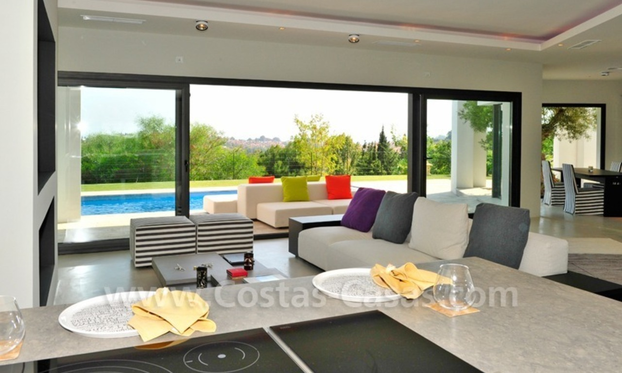 Exclusive modern villa for sale in the area of Marbella – Benahavis 11